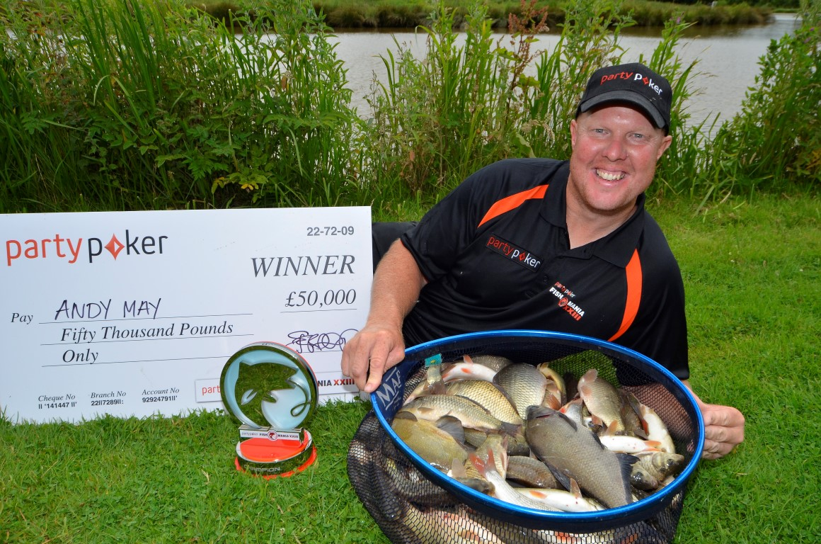 2016 Fish'O'Mania Winner:</span> Andy May