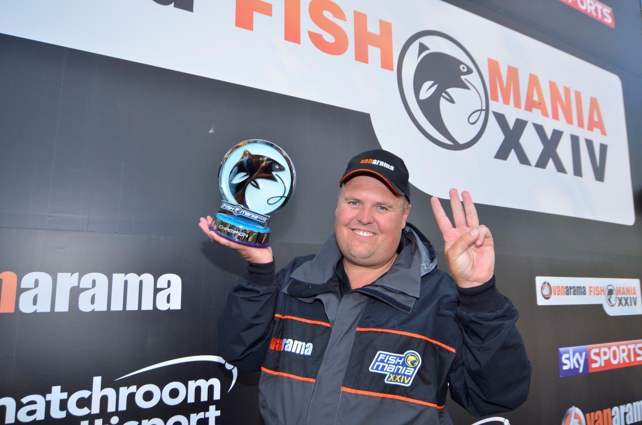 2017 Fish'O'Mania Winner: Jamie Hughes