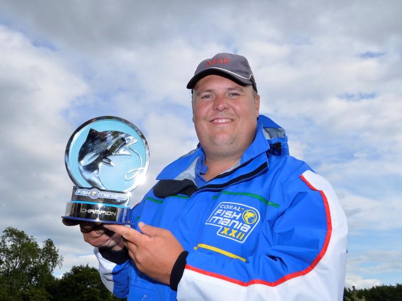 2015 Fish'O'Mania Winner: Jamie Hughes