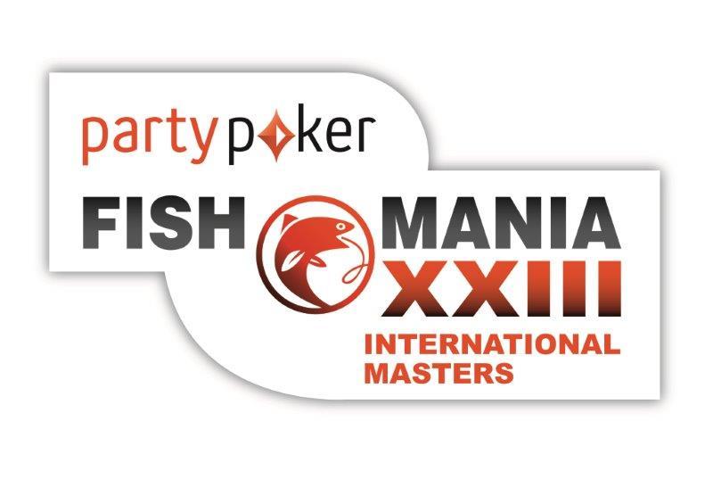 Fish O Mania XXIII logo international masters white