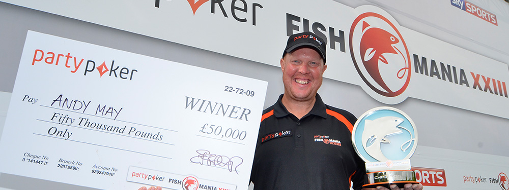 May Is partypoker Fish'O'Mania XXIII Champion