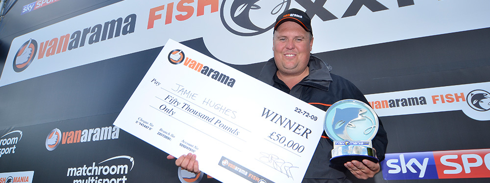 Hughes Is Record-Breaking Vanarama Fish'O'Mania Champion