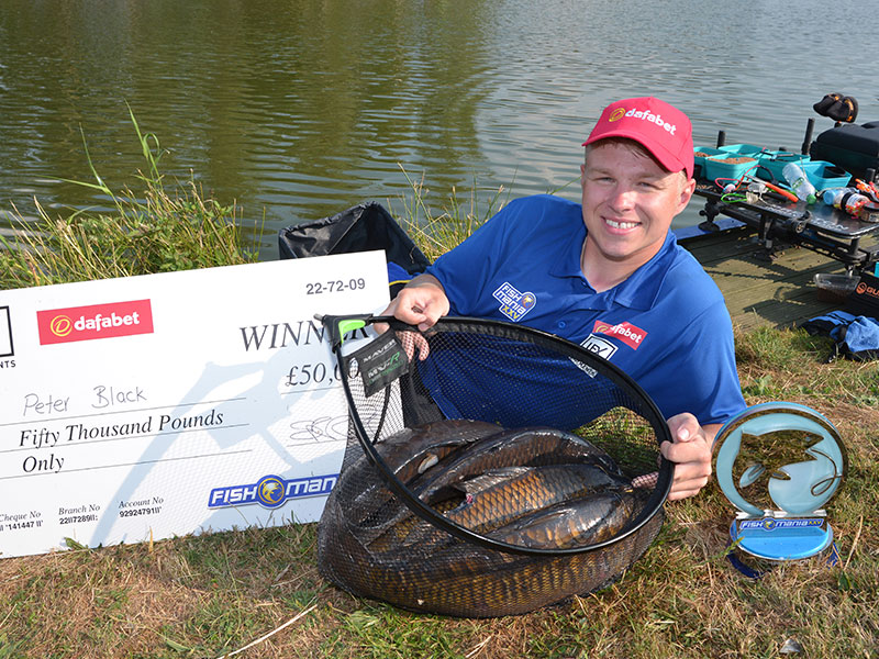 2018 Fish'O'Mania Winner: Pete Black