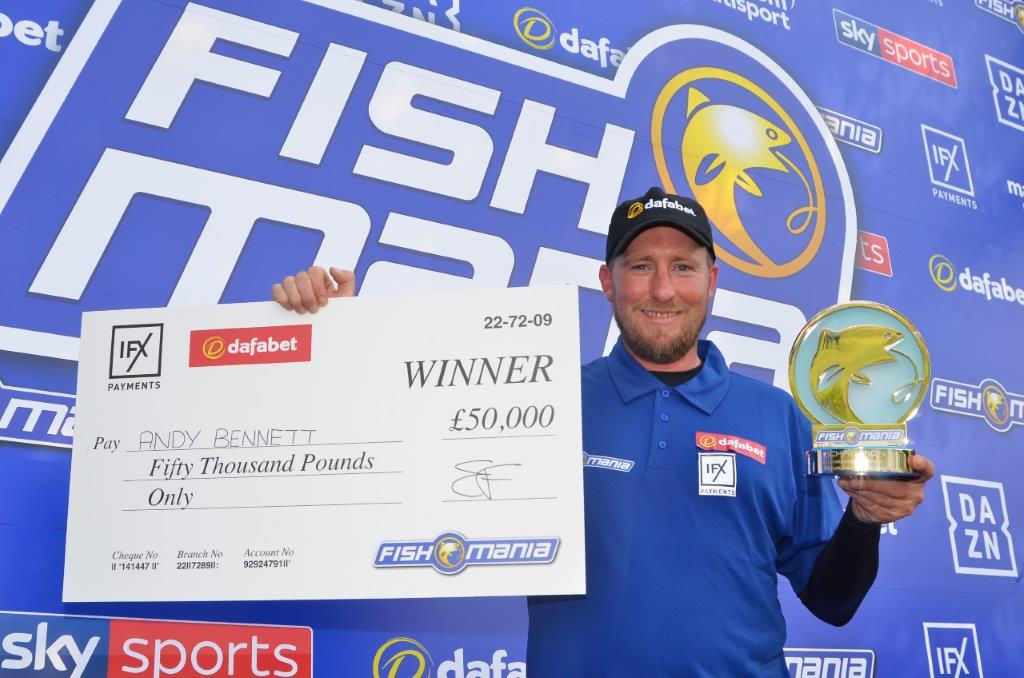 2019 Fish'O'Mania Winner: Andy Bennett